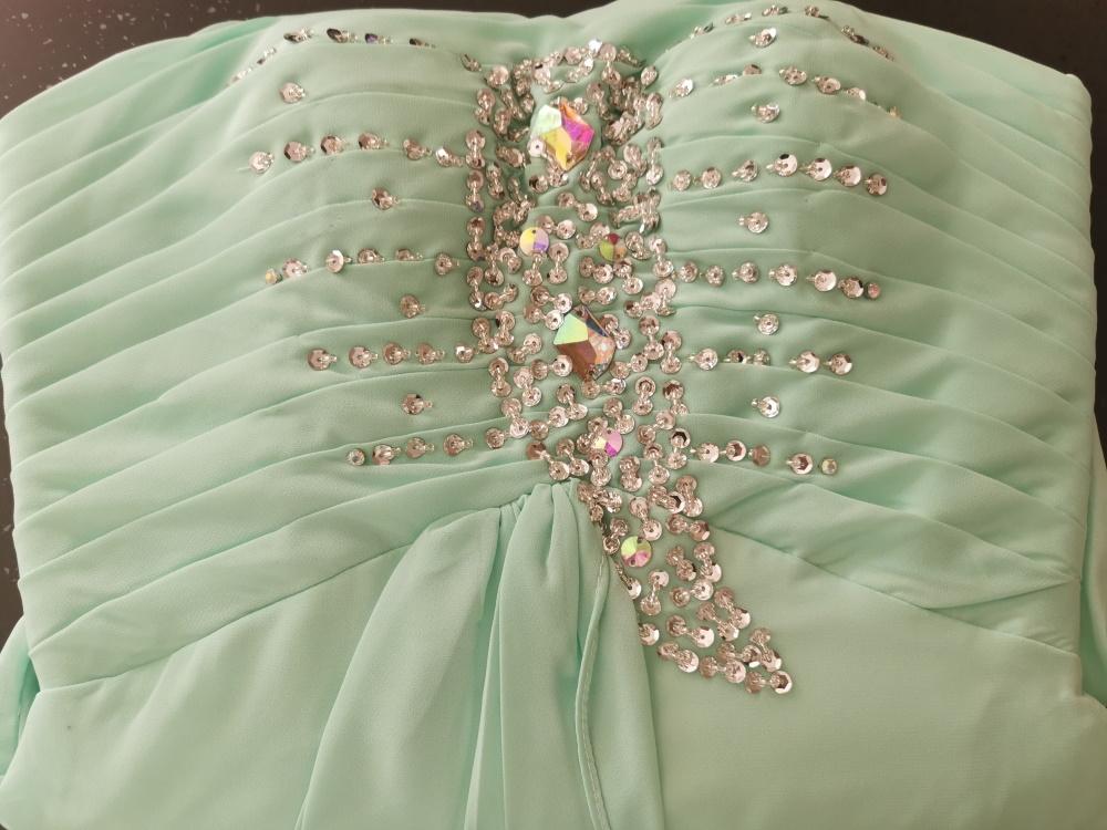 abito-da-cerimonia-donna-in-chiffon-damigella-vestito-lungo-elegante-festa-party miniatura 16