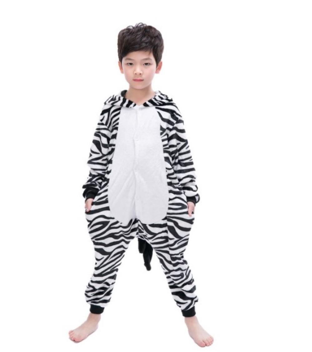 Emmarcon-pigiama-intero-animale-kigurumi-da-bambini-stella-arcobaleno-chiusura-i miniatura 76